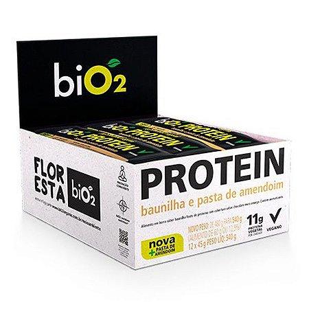 Barra Proteína Baunilha e Pasta de Amendoim - Caixa 12 unidades