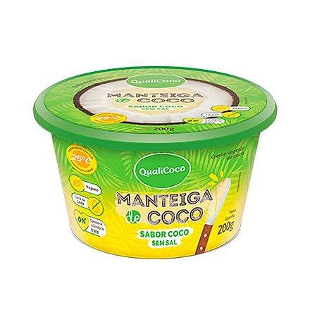 Manteiga de Coco sem Sal sabor Coco Qualicoco