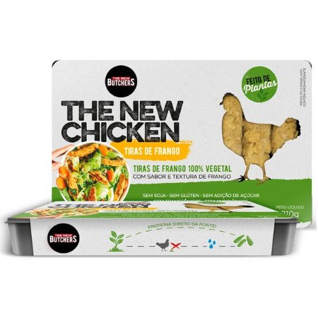 Tiras Vegetais sabor Frango The New Butchers