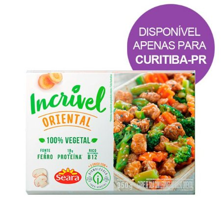 Carne Vegetal Oriental Incrível Seara