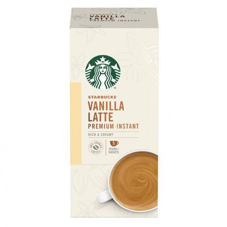 Café em sachês Vanilla Latte Starbucks