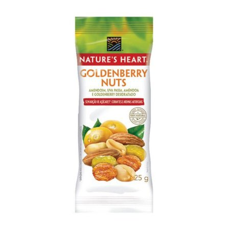 Snack Goldenberry Nuts 25g Nature's Heart