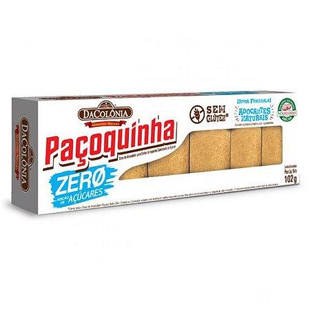 Paçoquinha Zero Açúcar Caixa com 6