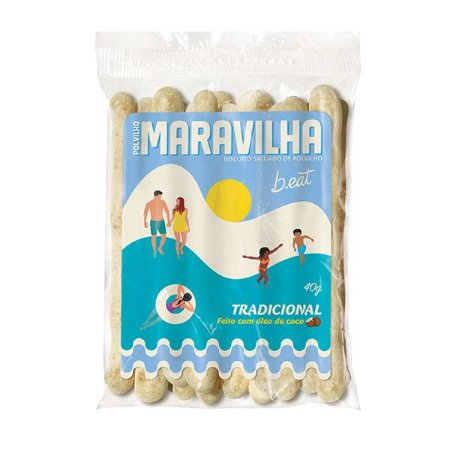 Biscoito de Polvilho Maravilha Tradicional B.Eat