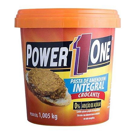 Pasta de Amendoim Integral Crocante PowerOne