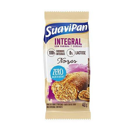 Bolinho Integral de Nozes Zero Açúcar Suavipan
