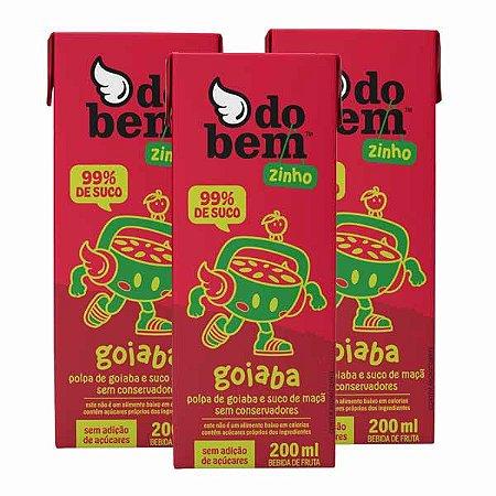 Suco de Goiaba Do Bem 200ml - 3 unidades