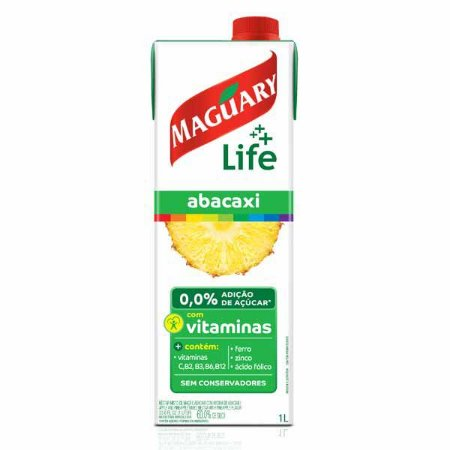 Suco de Abacaxi Maguary Life 1L
