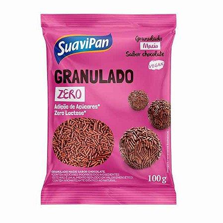 Chocolate Granulado Zero Lactose Suavipan 100g