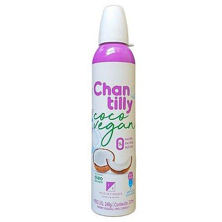 Chantilly de Coco Vegano em Spray