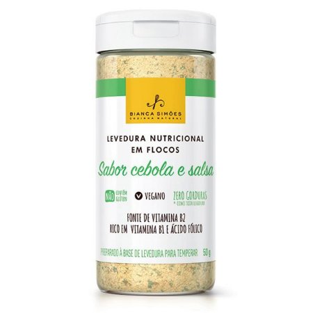 Levedura Nutricional sabor Cebola e Salsa