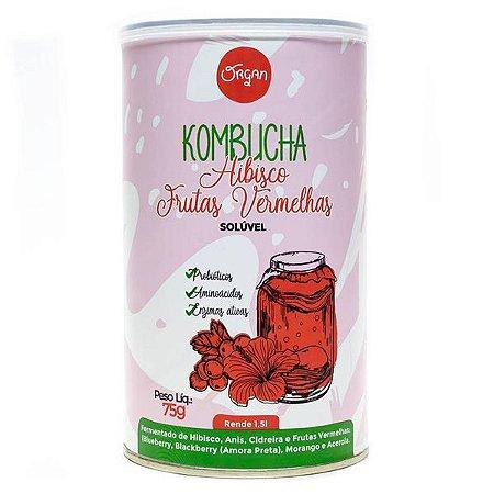 Kombucha Hibisco e Frutas Vermelhas Organ