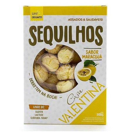Sequilhos Sem Glúten sabor Maracujá Valentina