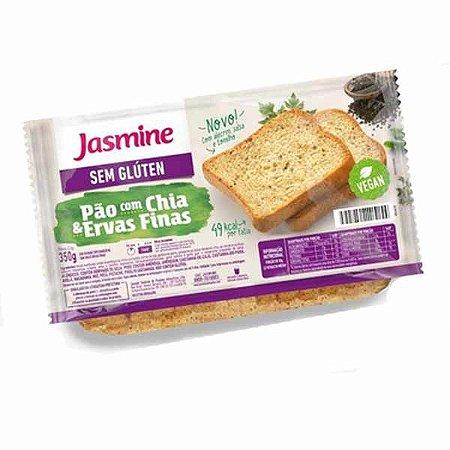 Pão com Ervas Finas Sem Glúten Jasmine