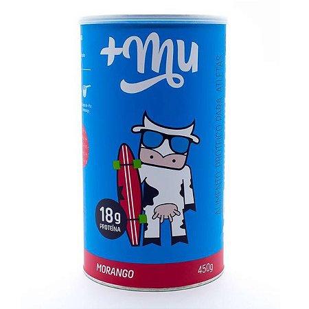 Proteína sabor Morango +Mu 450g