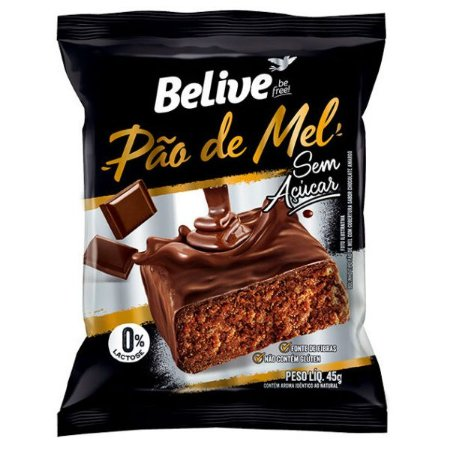 Pão de Mel Zero Açúcar Belive
