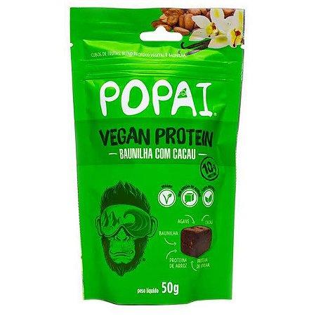 Cubo Proteico Vegano Baunilha com Cacau Popai
