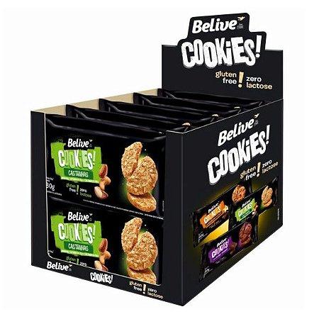 Cookies Castanha Sem Glúten Belive Caixa 10 pct