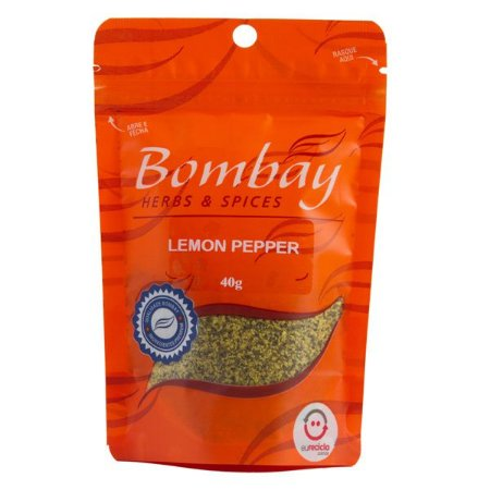 Tempero Lemon Pepper Bombay