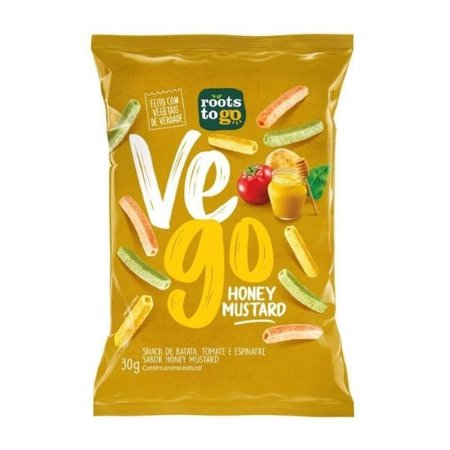 Snack VeGo Mostarda e Mel Roots to Go