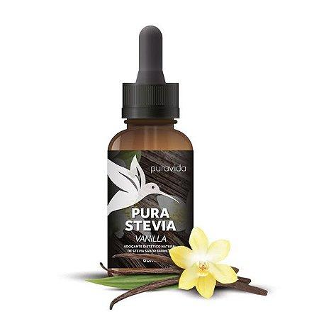 Adoçante Pura Stevia com Baunilha Pura Vida