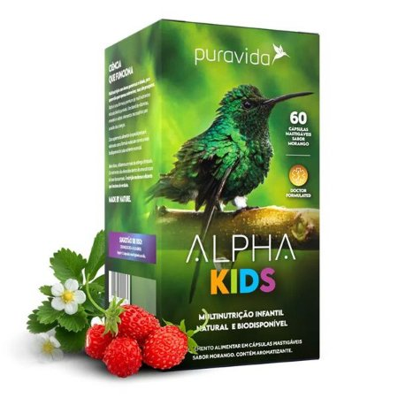 Alpha Kids Multi Nutricional Pura Vida