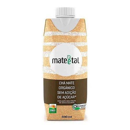 Chá Mate Orgânico Zero Açúcar Mate e Tal 330ml