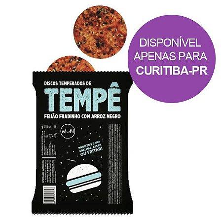 Disco de Tempê de Feijão Fradinho Temperado