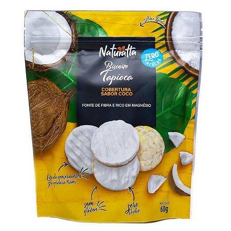 Biscoito de Tapioca Cobertura de Coco Naturatta