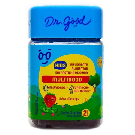 Pastilhas de Goma Multi Vitaminas Kids