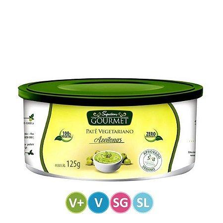 Patê Vegetariano sabor Azeitona - Superbom - 125g