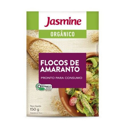 Amaranto em Flocos Jasmine 150g