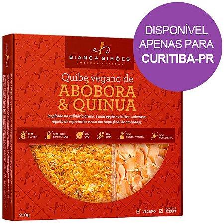Quibe Vegano Abóbora e Quinoa Bianca Simões