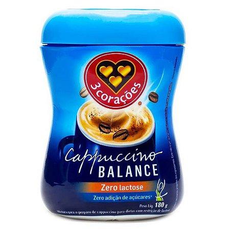 Cappuccino Balance Zero Lactose 3 Corações