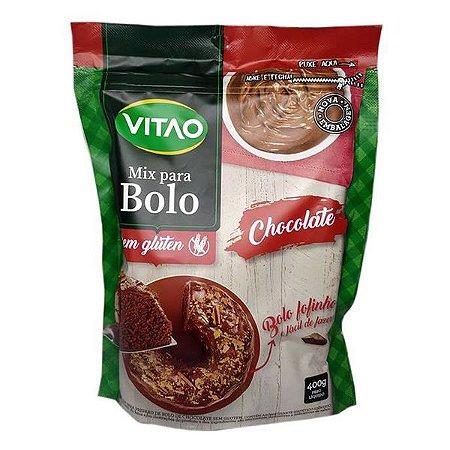 Mistura para Bolo de Chocolate Sem Glúten Vitao