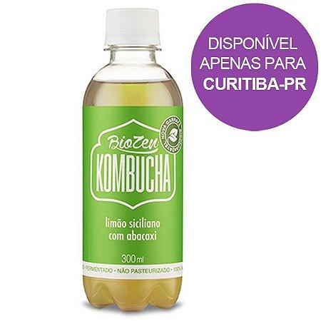 Kombucha Limão Siciliano com Abacaxi BioZen