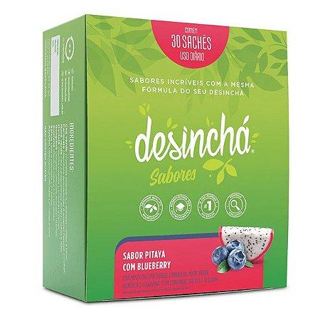 Desinchá Pitaya com Blueberry Caixa 30 sachês