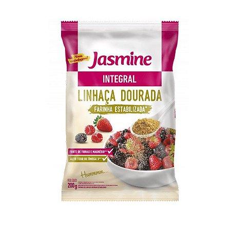 Farinha de Linhaça Dourada Estabilizada Jasmine 200g