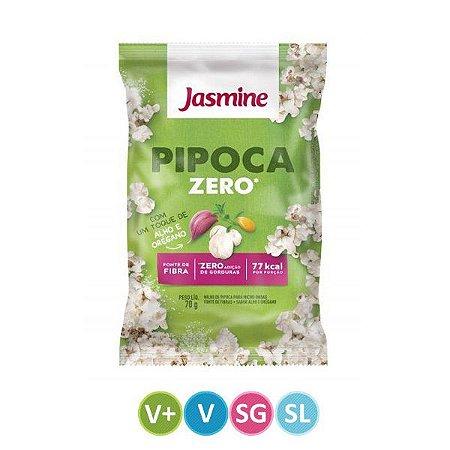 Pipoca Zero - Alho e Orégano - Jasmine - 70g