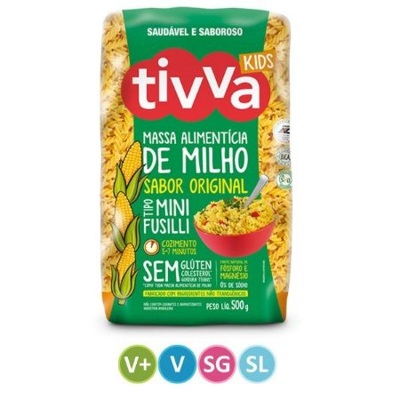 Mini Fusilli Kids Original Sem Glúten - 500g