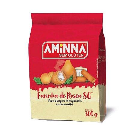 Farinha de Rosca Sem Glúten Aminna 300g