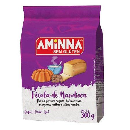Fécula de Mandioca Sem Glúten Aminna 300g