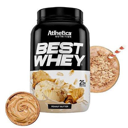 Best Whey Manteiga de Amendoim Athletica 900g