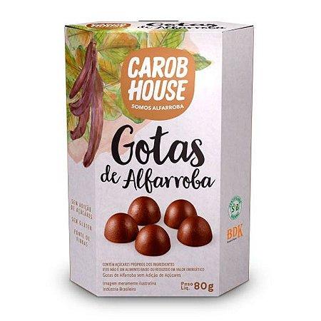 Gotas de Alfarroba Carob House 80g