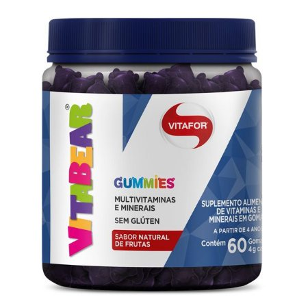 Vitabear Multivitaminico em Gomas Vitafor