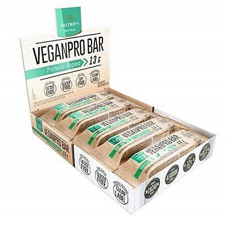 Barra Vegana VeganPro Bar Nutrify Caixa 10 un