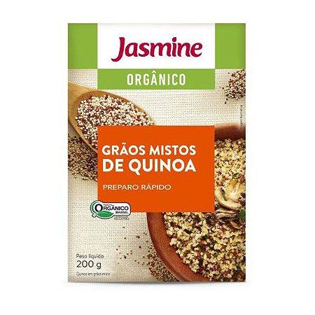 Quinoa Real Mista Orgânica em Grãos Jasmine