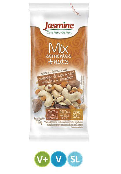 Mix de Sementes + Nuts Jasmine