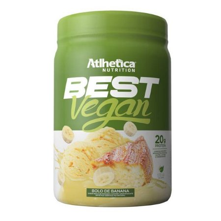 Blend Proteico Best Vegan Bolo de Banana Athletica 500g