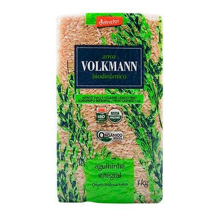 Arroz Agulhinha Integral Biodinâmico Volkmann 1Kg
